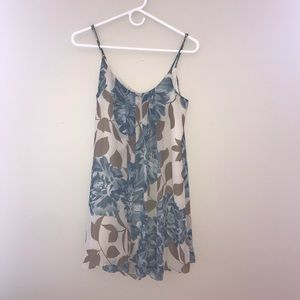 Anthropologie Floral Summer Dress